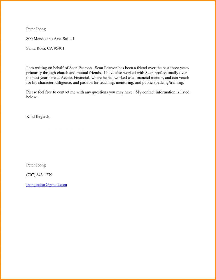 11+ letter of personal recommendation | mac resume template