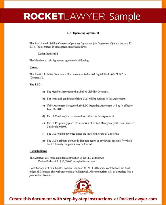 9+ llc operating agreement sample | academic resume template