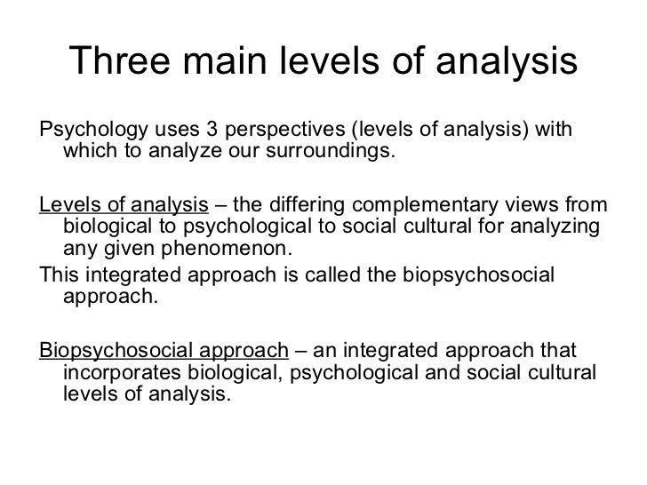 Module 1 the history and scope of psychology