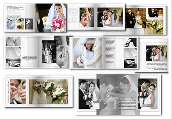 Wedding Photo Album Template Archives - Templates Front