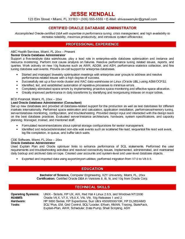 Download Storage Administration Sample Resume ...