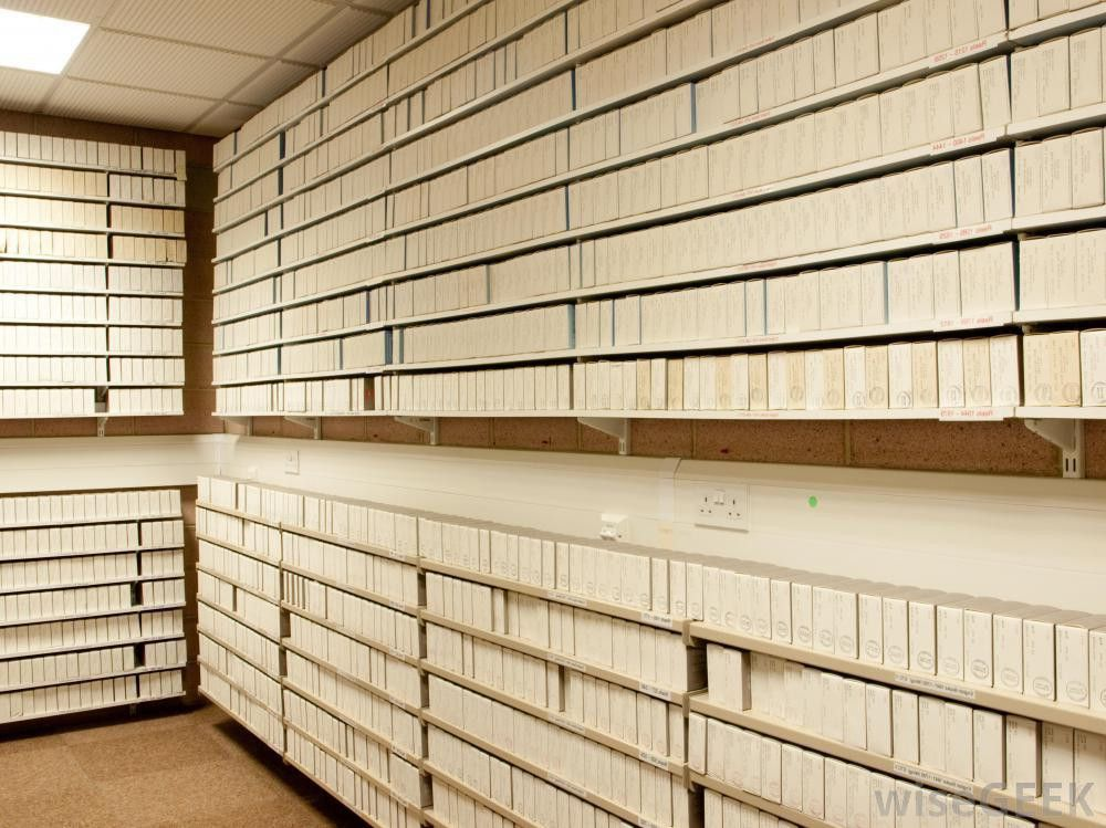 What does a File Clerk do with