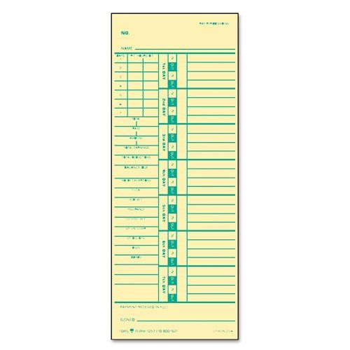 Time Card for Acroprint and Simplex|Geographics