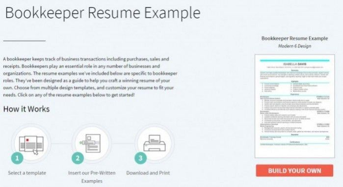 Bookkeeper Resume Tips and Samples