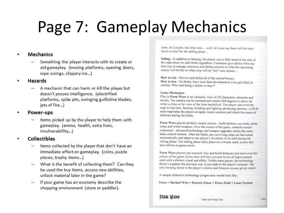 Scripting Is Fun! » 10 Page Game Design Document