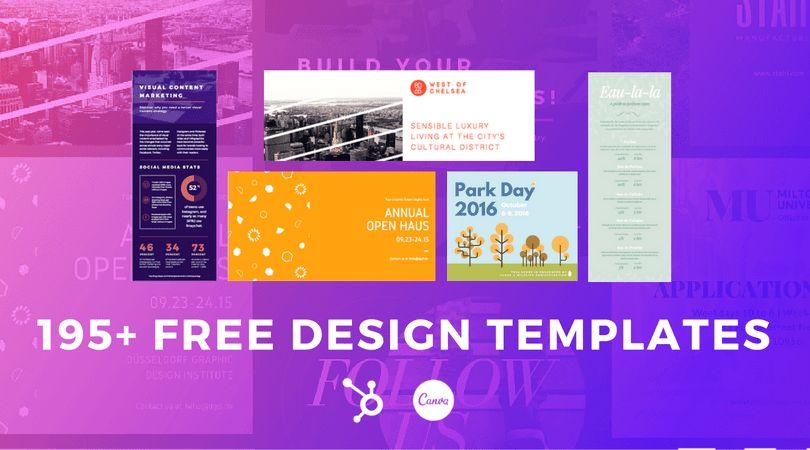 195+ Visual Marketing Design Templates