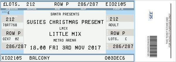 Fake Ticket Generator | fake ticket | Pinterest | Generators and ...