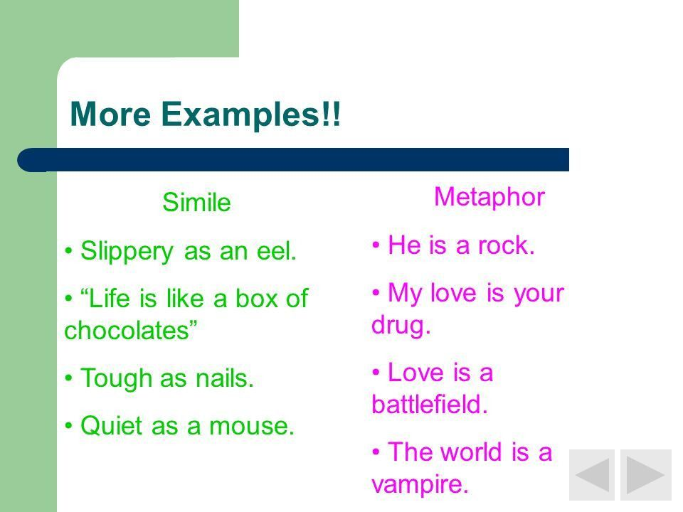 As Clear as Mud: Similes and Metaphors - ppt video online download