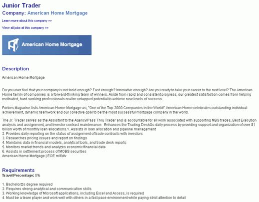 Elegant Junior Trader Cover Letter