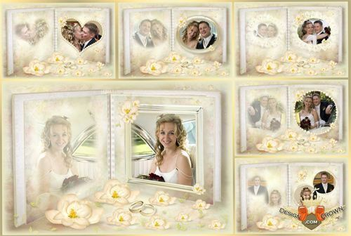 Free templates photoshop for marriage greetings