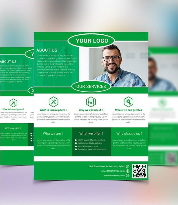 10+ Fabulous Free Business Flyer Templates | Free & Premium Templates