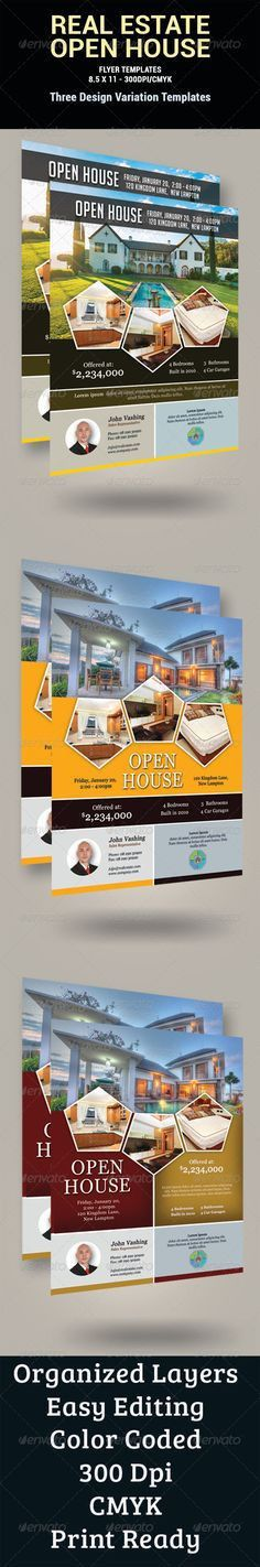Luxury Home Real Estate Flyer Design Template by StockLayouts ...