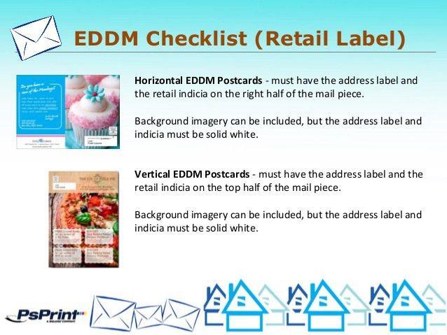 PsPrint, Designers EDDM & Direct Mail Presentation