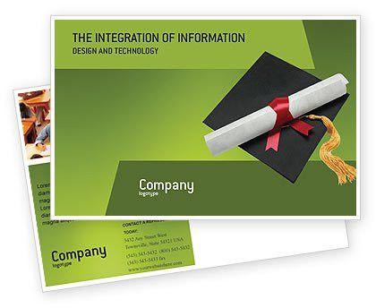 Certificate of Degree Postcard Template in Microsoft Word, Adobe ...