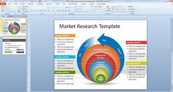 market analysis ppt template free market research powerpoint ...