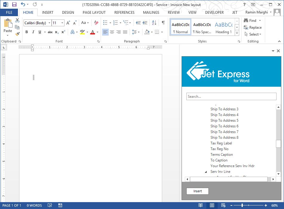 Empowering NAV Clients with Jet Express for Word