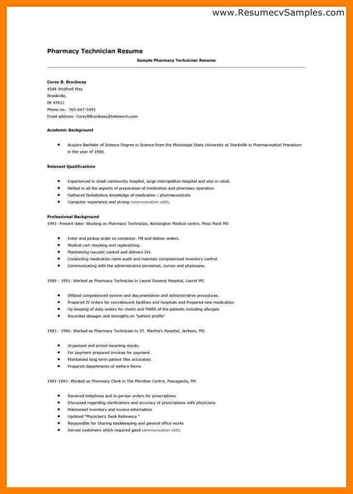 5+ pharmacy technician resume skills | packaging clerks