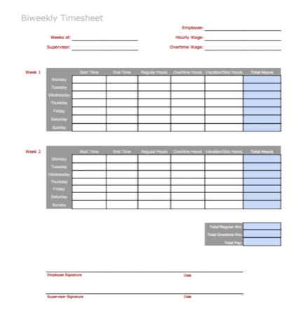 3 Timesheet Templates to Pay Employees with Ease