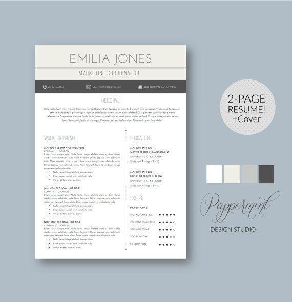 38 best template resumee images on Pinterest | Resume ideas ...