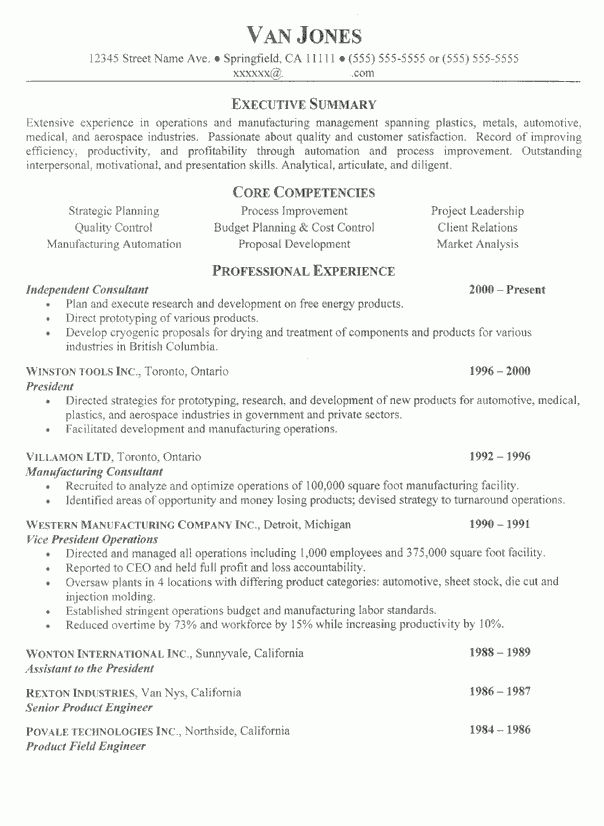 Resume Examples. How To Write A Narrative Resume Template Examples ...