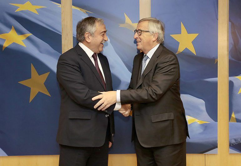 Akinci says he has no objection to EU presence at the talks ...