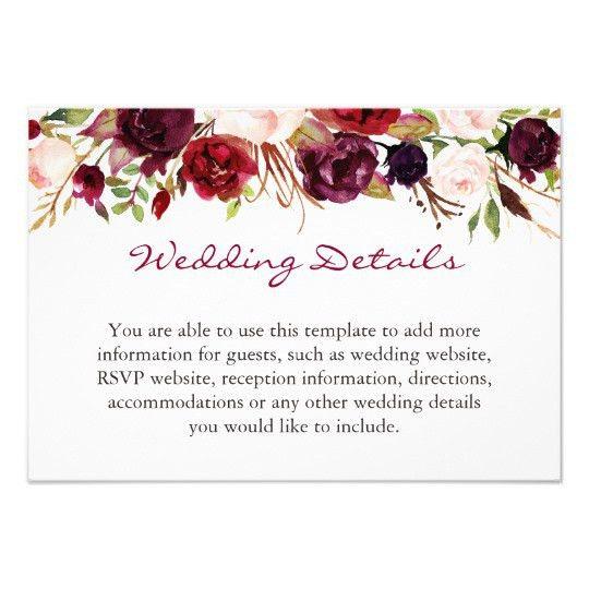 Floral Invitations & Announcements | Zazzle