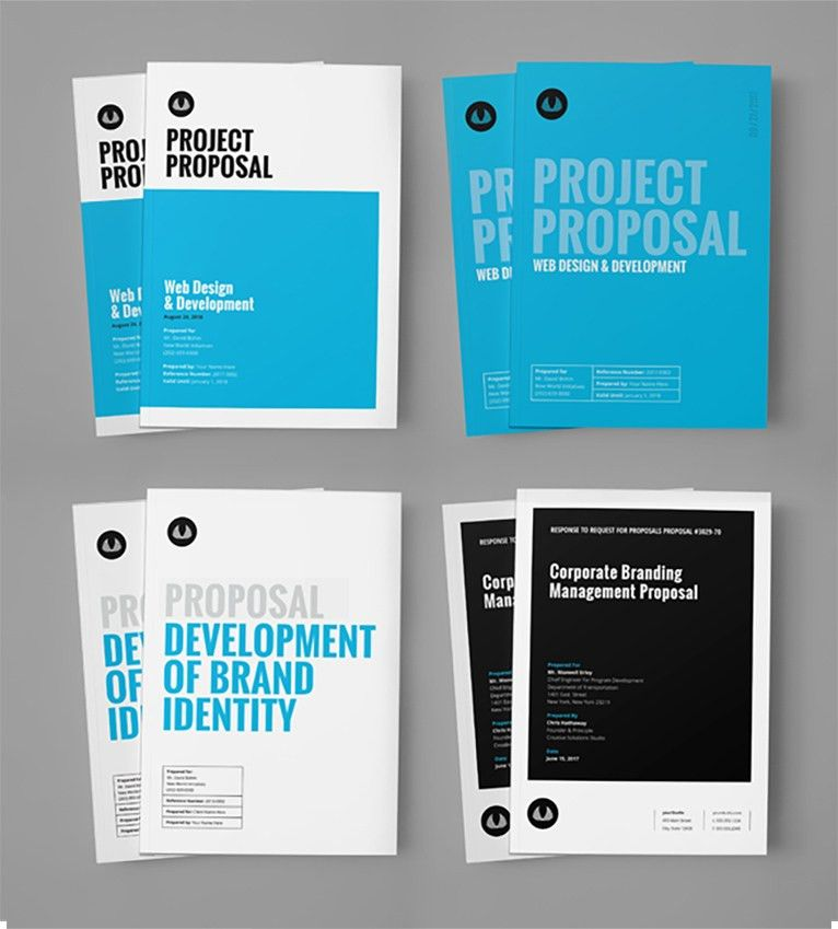 Business Proposal Template w/ Resume & Invoice 60+ Pages by _land ...