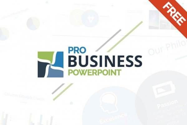ProBusiness Free Powerpoint Template - Create your Pitch Deck Now