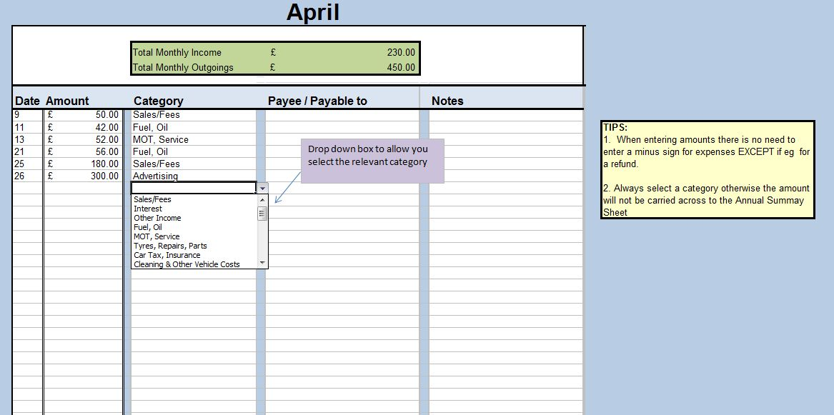 Driving School Supplies | Driving Instructor Accounting Software