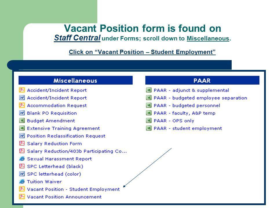 Employment Request Form. Job Request Form Template Doc 700967 ...