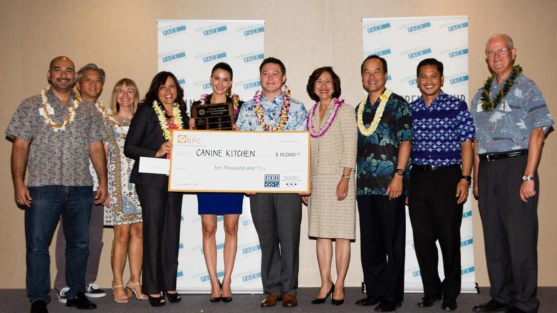 Hawaii dog food startup takes top prize in University of Hawaii ...