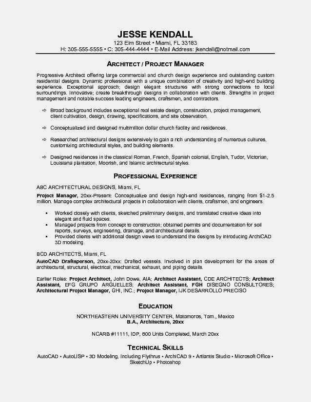Project Management Resume Examples. Professional Project Manager ...
