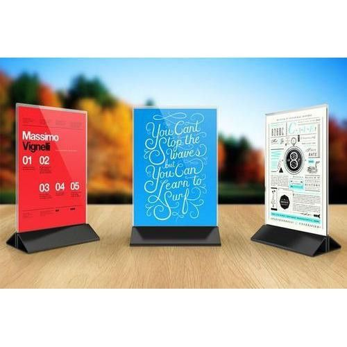 Table Tent Mock Up Template, Table Tambu Cards - Galaxy ...
