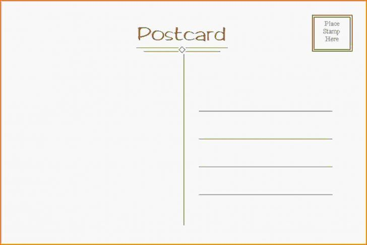 Fresh Word Postcard Template Free | pikpaknews