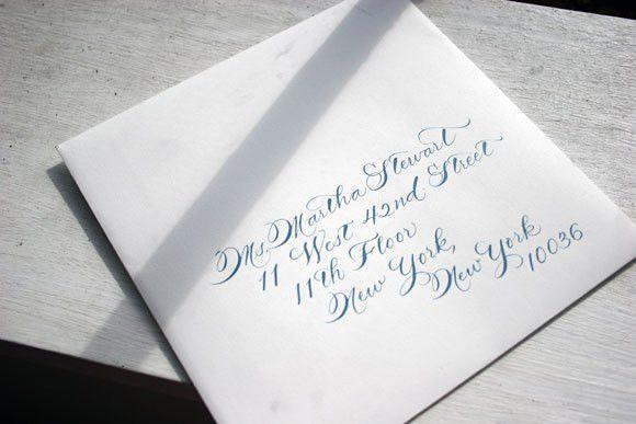 Addressing Formal Wedding Invitations | Invitation Ideas