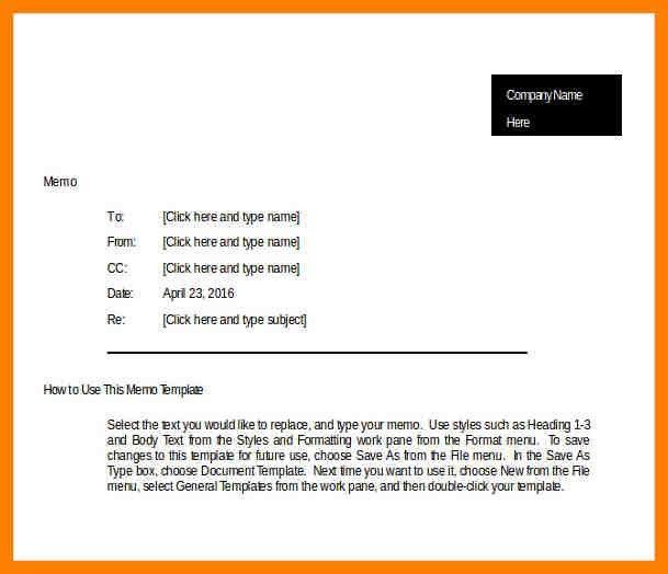 10+ business memo template | addressing letter