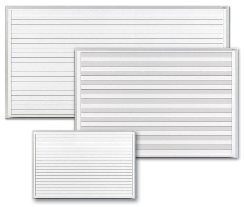Dry Erase Boards with Grids and Lines