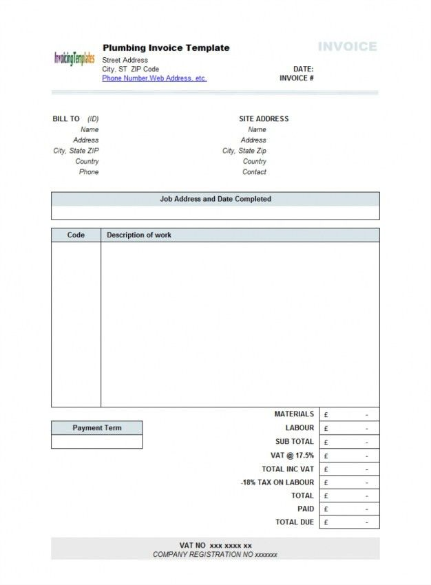 Download Nanny Invoice Template Uk | rabitah.net