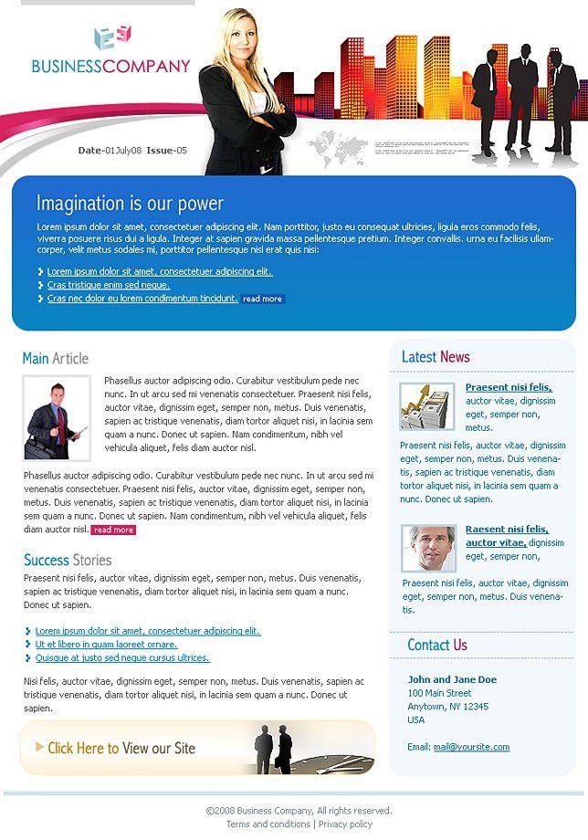 Business Development Newsletter Templates