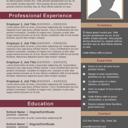 Sophisticated | Creative Resume Template | Resume 10 | Creative ...