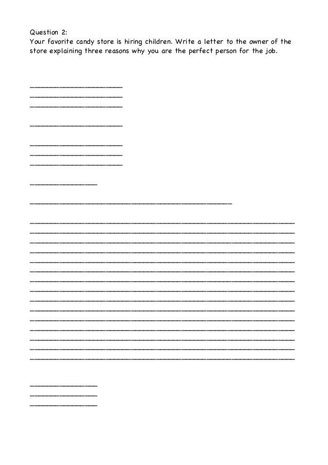 Formal letter (Format, Examples, Exercises)