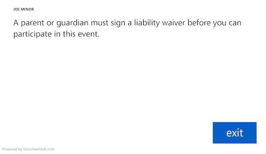 Volunteer Liability Waiver - Managing Risk