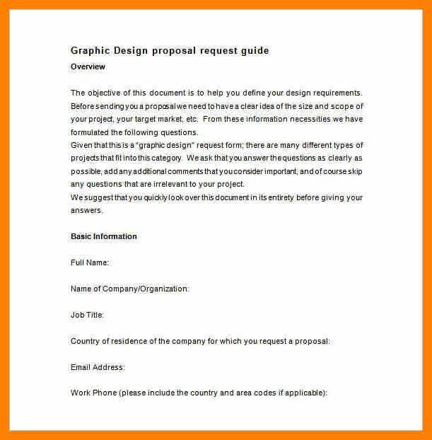 Work Proposal Template. Printable Sample Business Proposal ...