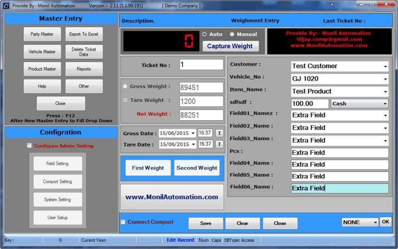 Download Weighbridge Software Free 5.1.99.191
