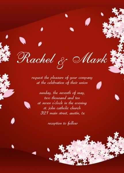 Wedding Invitations Templates Online Free | wblqual.com