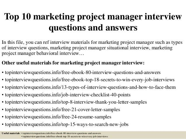 top-10-marketing-project-manager -interview-questions-and-answers-1-638.jpg?cb=1426556985