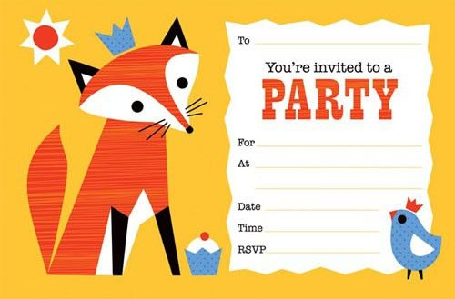 Party Invitation Templates - iidaemilia.Com