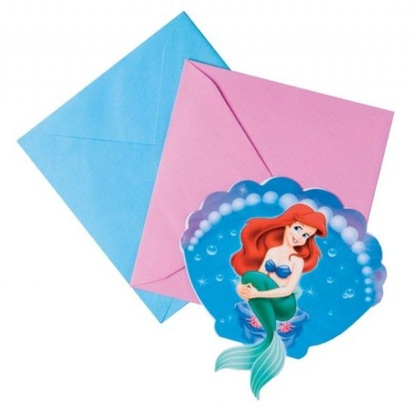 Little Mermaid Party Invitations | THERUNTIME.COM