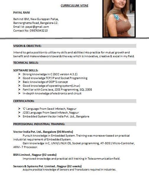 Us Resume Format Format For Resume American Resume Format Resume In
