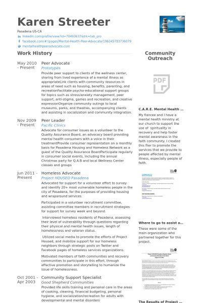 Advocate Resume samples - VisualCV resume samples database